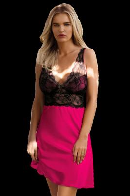 DKaren Sara Pink damska koszula nocna