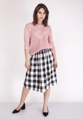 MKMSwetry Penny SWE 041 Pudrowy róż sweter damski
