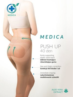 Gabriella Medica Push Up 40 den rajstopy