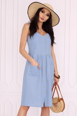 Merribel Akminas Blue sukienka damska