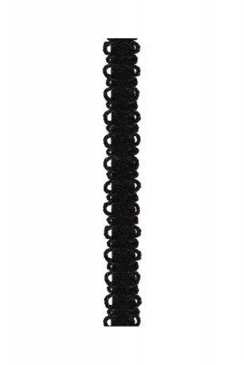 Julimex rb 118 koronka czarny ramiączka
