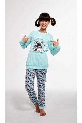 Cornette 594/116 Kids So Cute Turkus Piżama dziewczęca