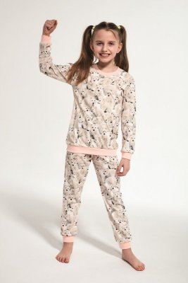 Cornette 032/118 Kids Polar Bear Beżowy Piżama dziewczęca