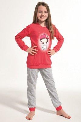 Cornette 594/108 Kids Girl With Cat Piżama dziewczęca