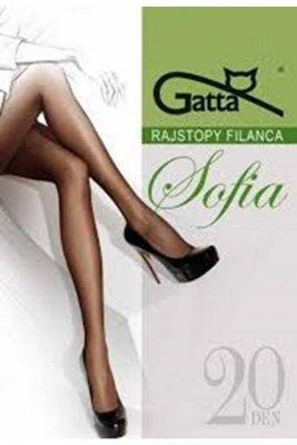 Gatta elastil sophia plus visone rajstopy