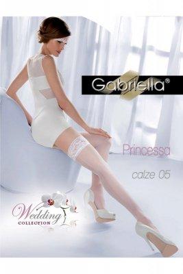 Gabriella 189 princessa 05 bianco pończochy
