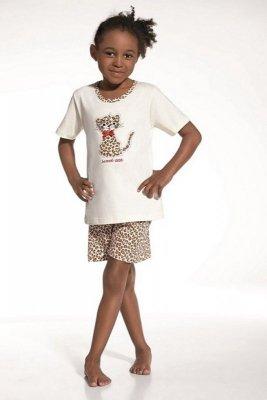 Cornette 787/32 Sweet cat ecru piżama dziewczęca