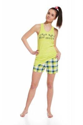 Cornette 292/23 More seledynowy piżama damska