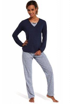 Cornette 168/138 Erin granatowy piżama damska