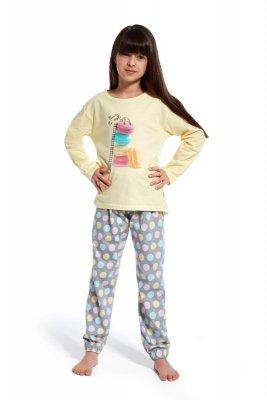 Cornette 972/83 Time to rest zółty piżama dziewczęca