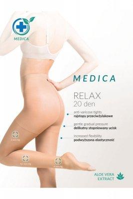 Gabriella relax medica 20 den plus grigio rajstopy