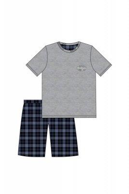 Cornette 326/67 Michigan 2 melanż piżama męska