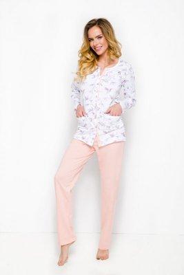 Taro Fabia 2122 brzoskwiniowy piżama damska