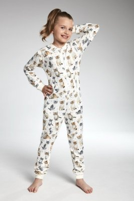 Cornette 105/100 Lovely cats 3 ecri piżama chłopięca