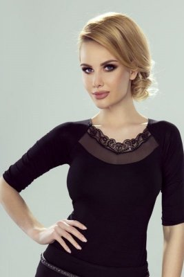 Eldar Dalia czarny bluzka damska