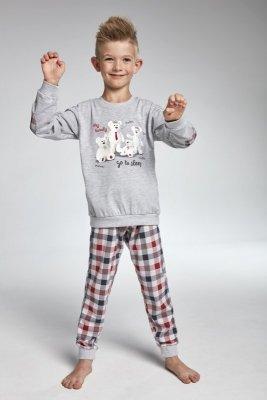 Cornette 174/83 My family melanż piżama chłopięca