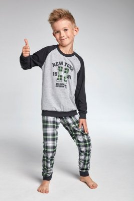 Cornette kids 179/86 New york melanż piżama chłopięca