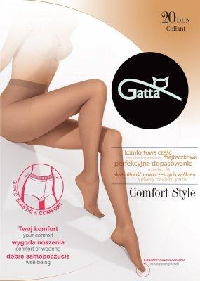 Gatta Comfort Style 20 den 5-XL rajstopy