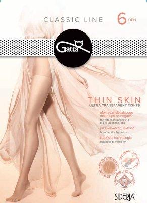 Gatta Thin Skin 6 den rajstopy
