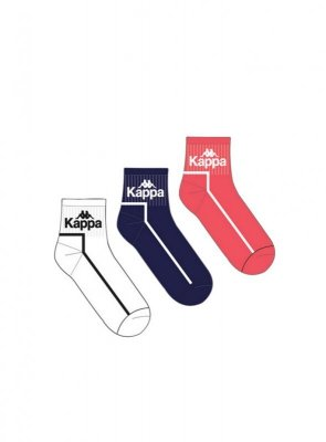 Kappa 30541 Low Cut A'3 3-pack skarpetki