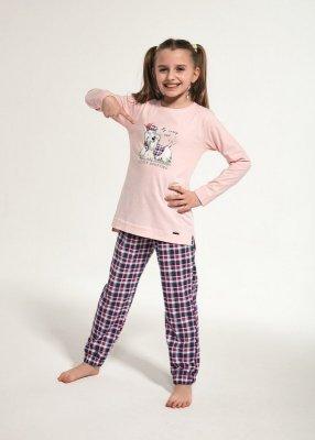 Cornette Young Girl 781/113 Scottie 134-164 piżama dziewczęca