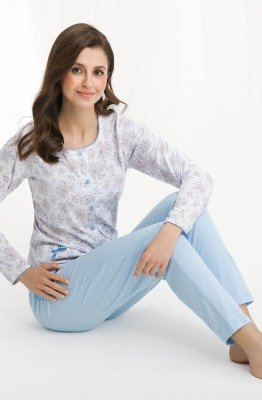 Luna 456 plus piżama damska