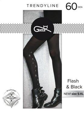 Gatta Flash & Black wz.02 60 den rajstopy