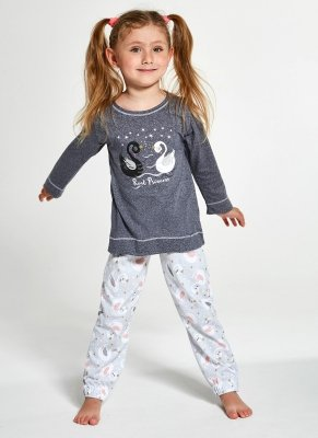Cornette Kids Girl 379/131 Swan 86-128 piżama dziewczęca