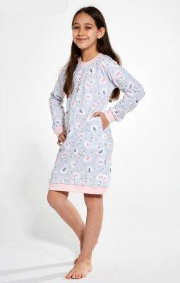 Cornette Kids Girl 396/137 Swan 3 86-128 dziewczęca koszula nocna