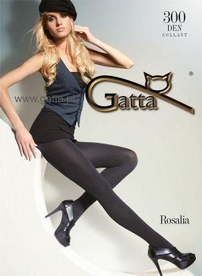 Gatta Rosalia 300 den 5-XL rajstopy