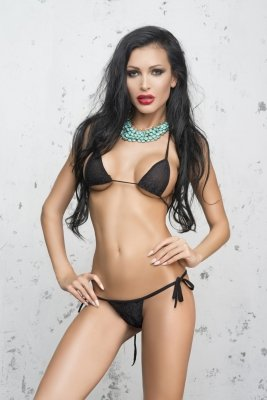 Me Seduce Costa Brava Black Mini bikini