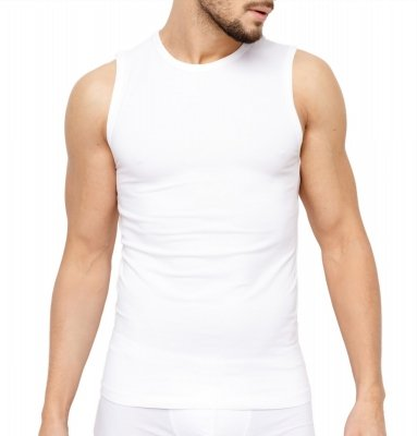 Rossli MTP-003 biały Podkoszulek męski