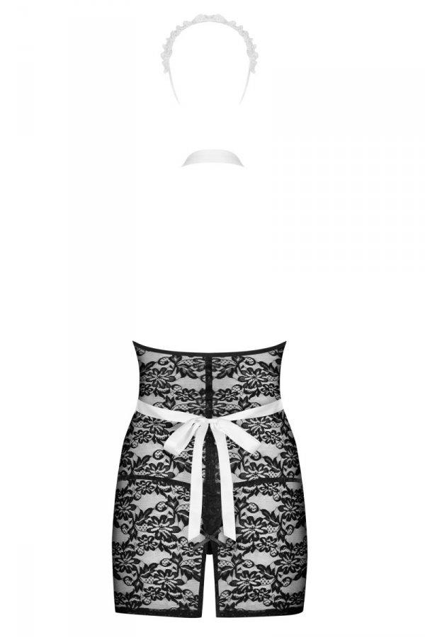 Obsessive Servgirl Kostium 4-częściowy