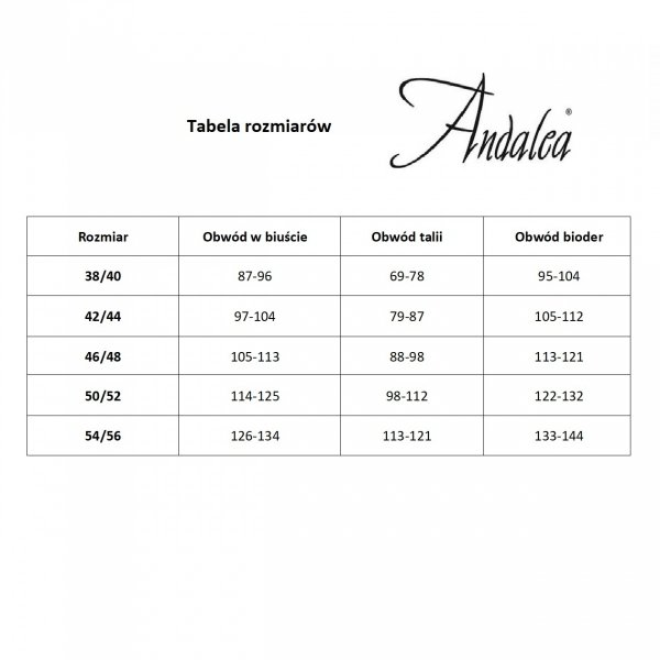 Andalea M/1092 Pas do pończoch