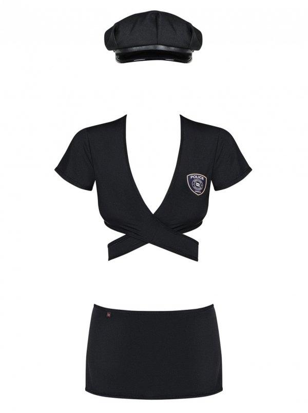 Obsessive Police uniform Kostium 4-częściowy