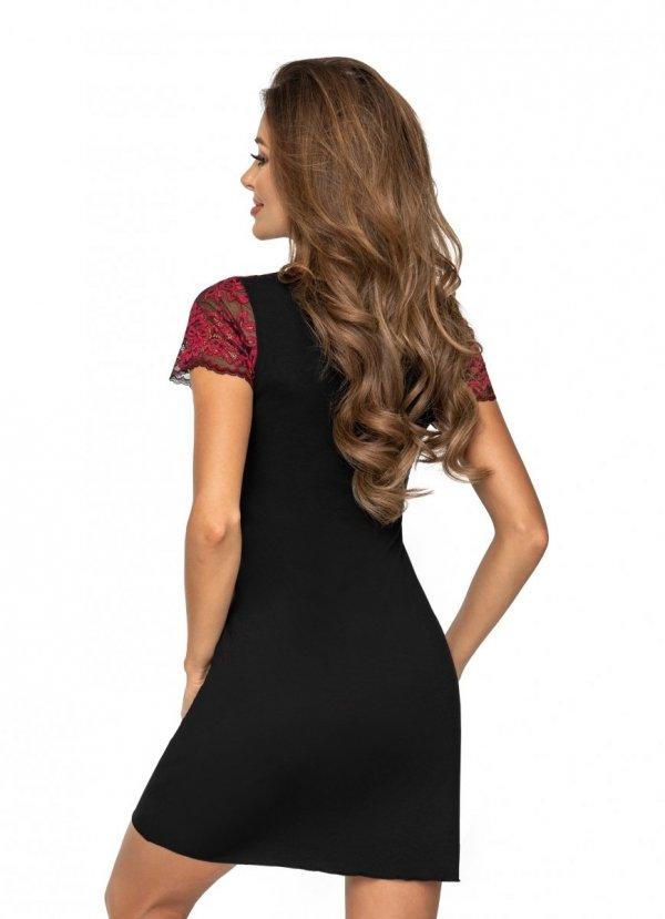 Donna Alexia czarna Koszula nocna