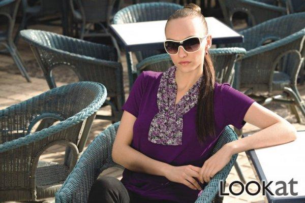 Lookat Darcy 3976 fioletowa bluzka damska