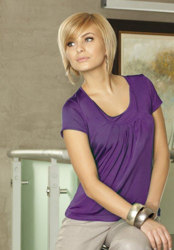 Lookat Shelly 3327 fioletowa bluzka damska