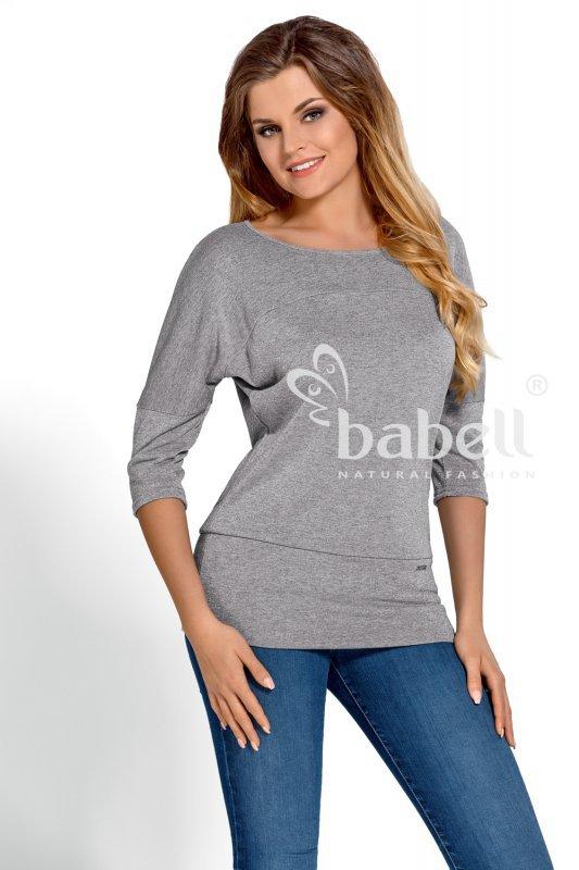 Babell Jaqueline Exclusive Popielata bluzka damska