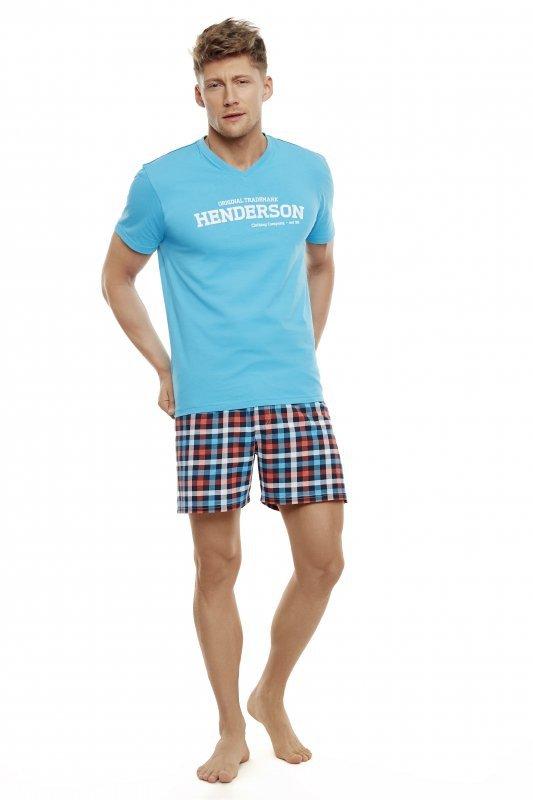 Henderson Edit 35736-56X Turkusowa piżama męska