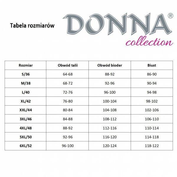Donna Paris 1/2 czarna Piżama damska