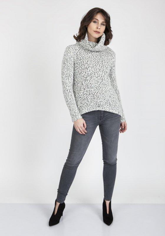 MKMSwetry Nicola SWE 103 Ecru sweter damski