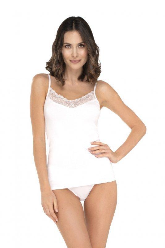 Babell Emilia Biała koszulka damska