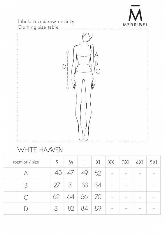 Merribel White Haaven sukienka damska