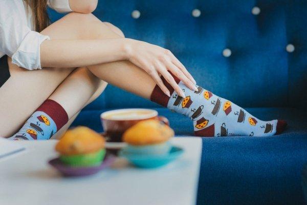 Spox Sox Kawa i muffinki Skarpetki