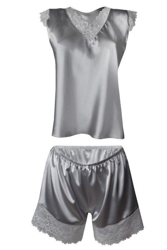 DKaren Madison Srebrny piżama damska