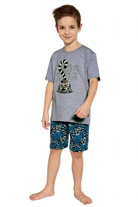Cornette Lemuring 790/95 Melanż piżama chłopięca