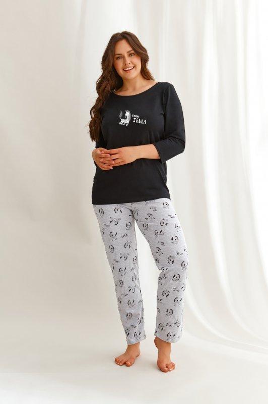 Taro Livia 2610 czarna piżama damska