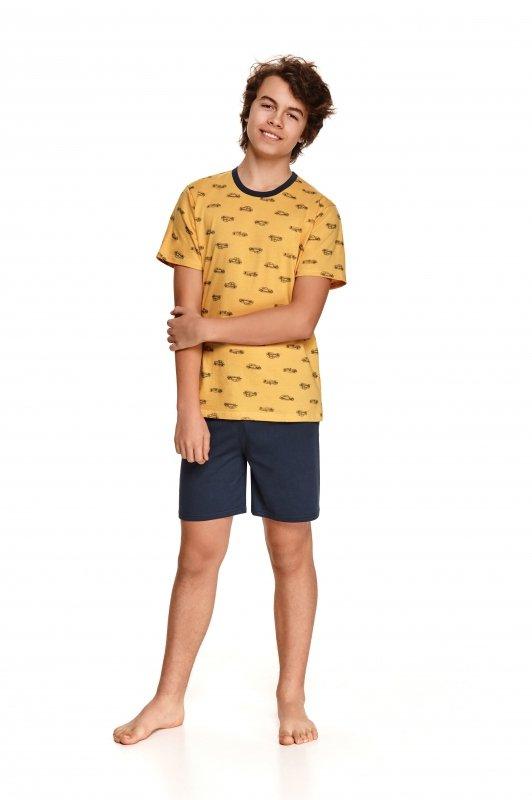 Taro Max 344 Żółta piżama chłopięca