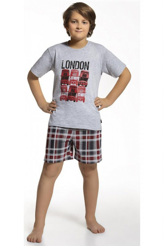 Cornette 790/36 szary piżama chłopięca